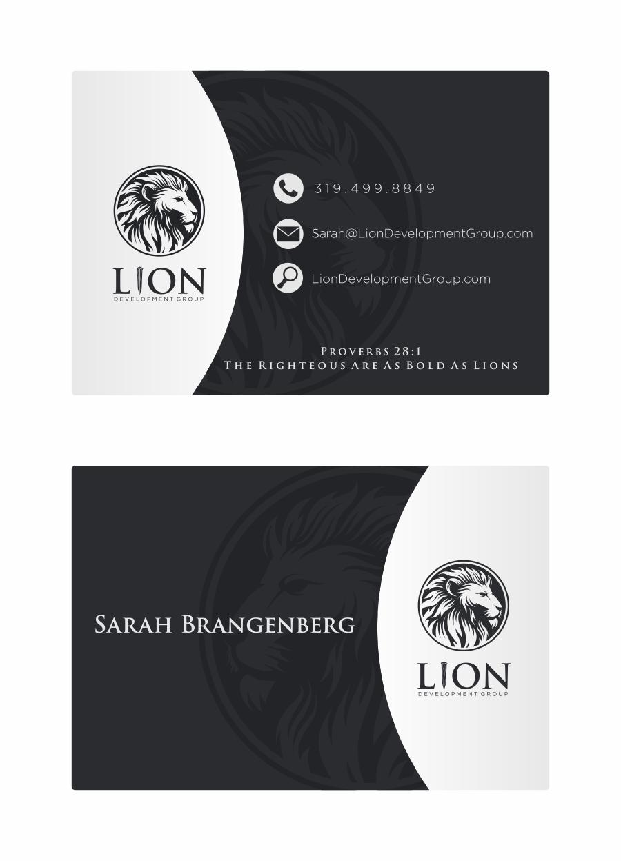 Business Cards: Lion Development Group