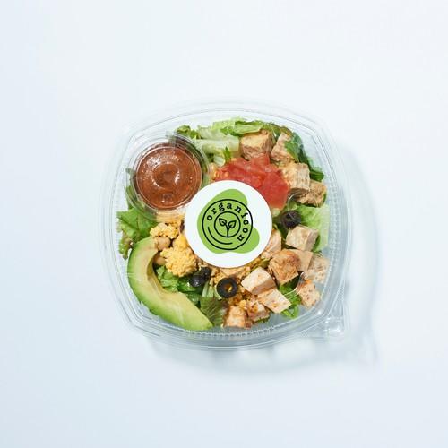 Organicon - Minimalist Organic Logo Design