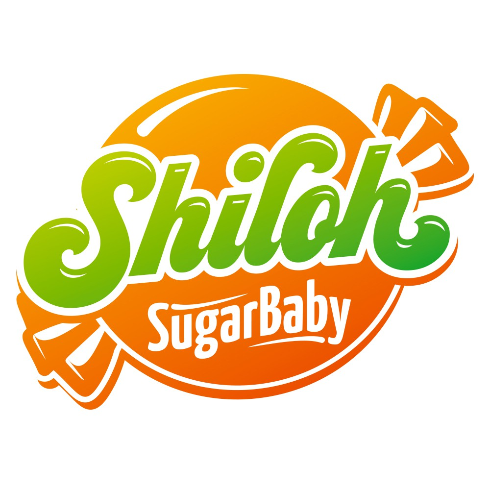 Design a classy candy-centric logo for Shiloh Sugar Baby