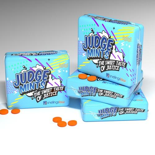 Mints box packaging