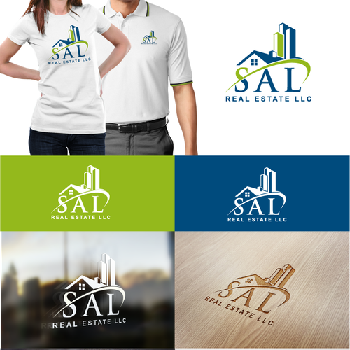 Create a logo for real estate investment company that buys and rents homes.