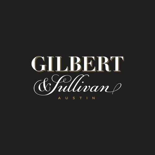Gilbert & Sullivan Logo concept