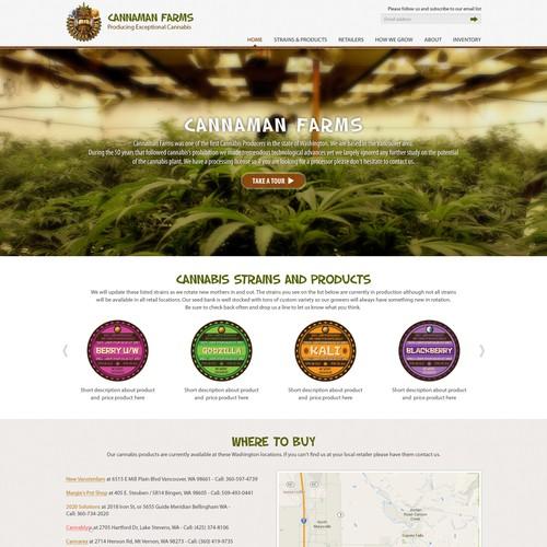 Legal Marijuana Needs Fresh Website!