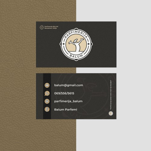 Logo and bussines card design