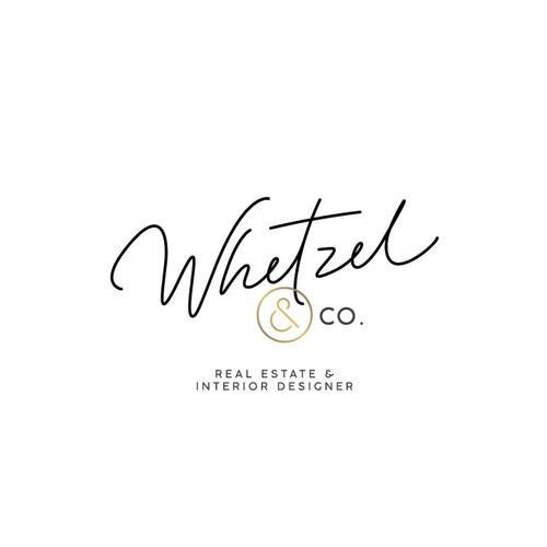 Beautiful logo for realtor and interior designer