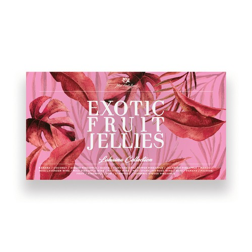 Design for fruit jellies box