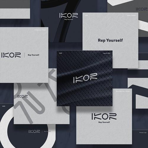 Ikor - Rep your self Visual Brandinga