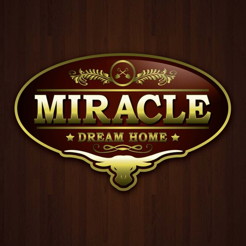 Create the new logo for Miracle Dream Homes (MDH)