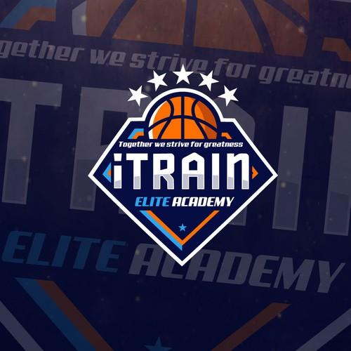 iTrain Logo design