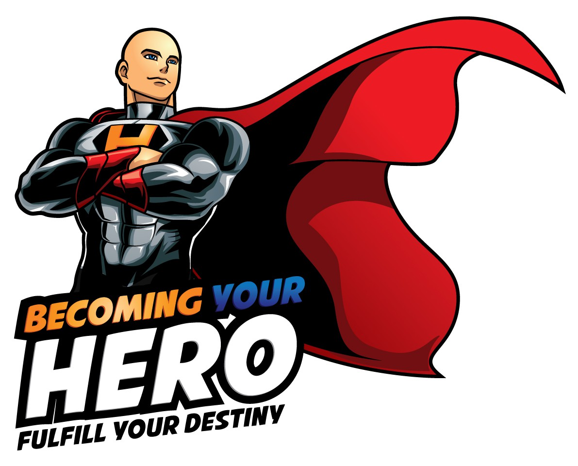 Create an epic logo for Becoming Your Hero!!