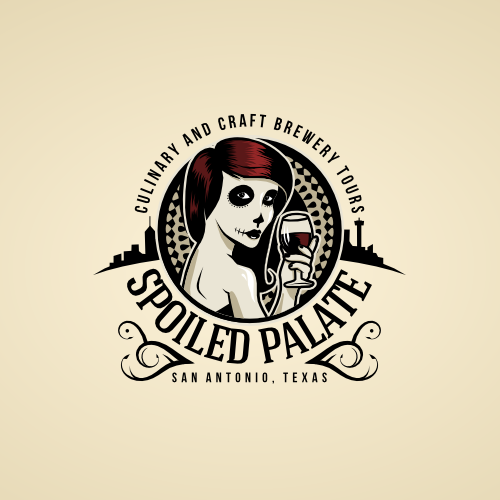New logo for Spoiled Palate | Culinary and Craft Brewery Tours