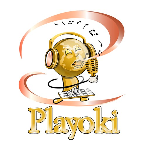 New logo wanted for Playoki a  Music Application for the Tablet Market