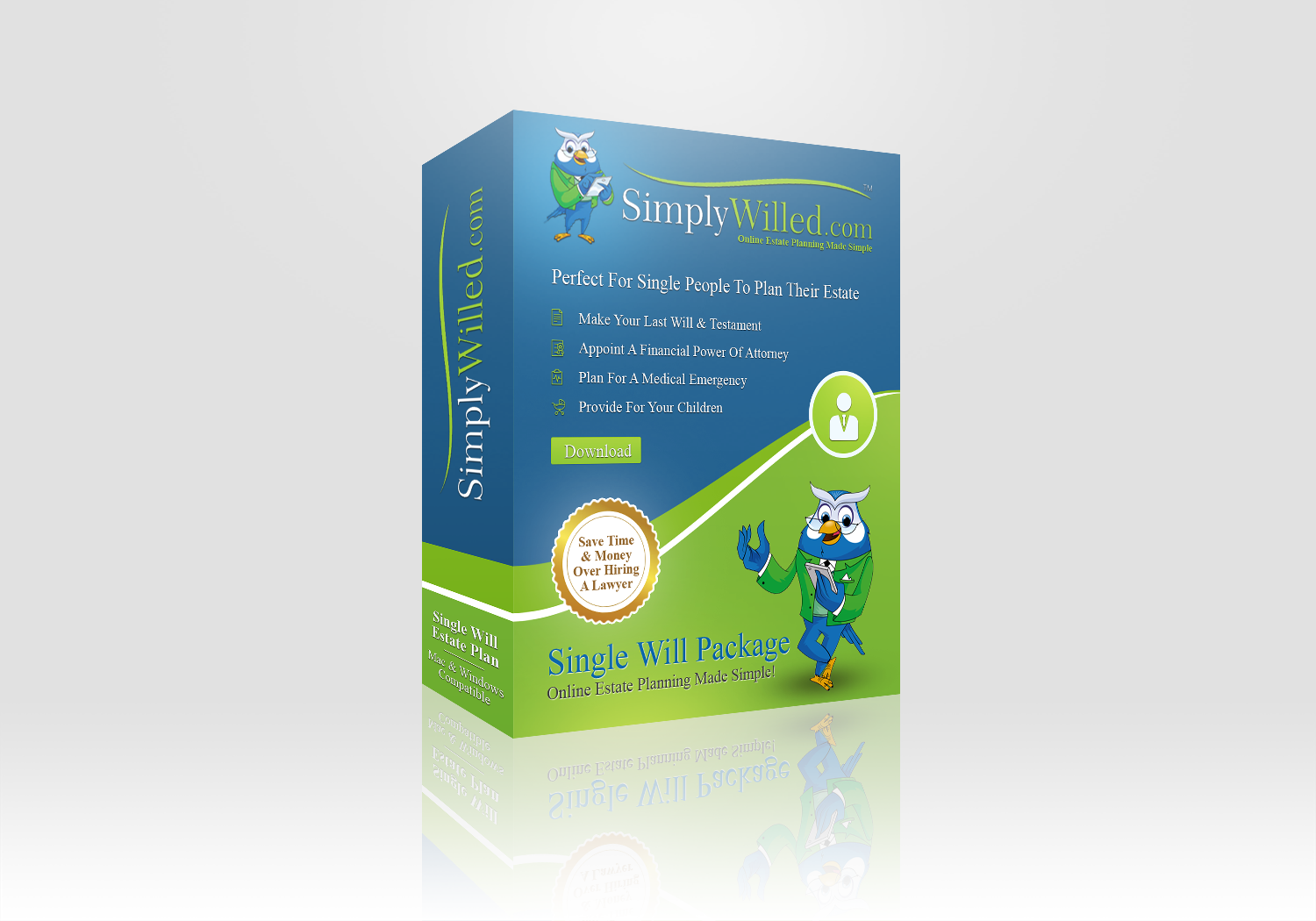 SimplyWilled.com Product Box