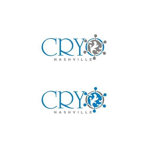 Create a new age healthcare logo for CryoNashville
