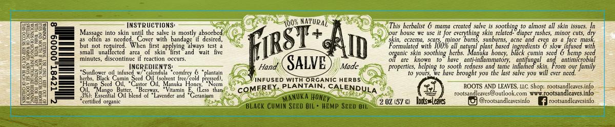 First + Aid Salve