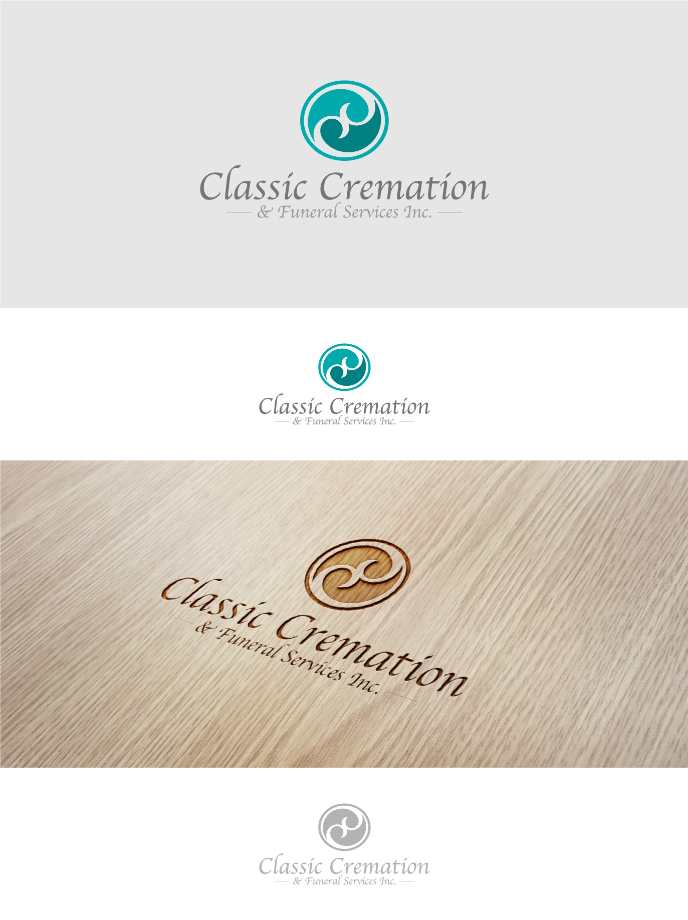 Design a logo for a new funeral home, classic in nature, fresh in it's approach