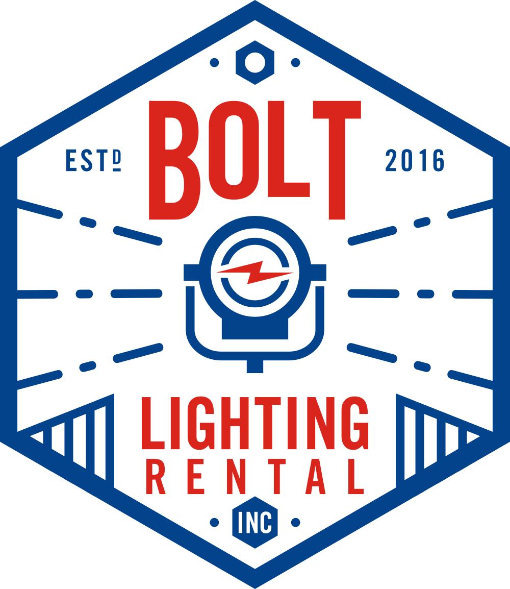 Retro, vintage-inspired logo needed for Bolt Lighting Rental!