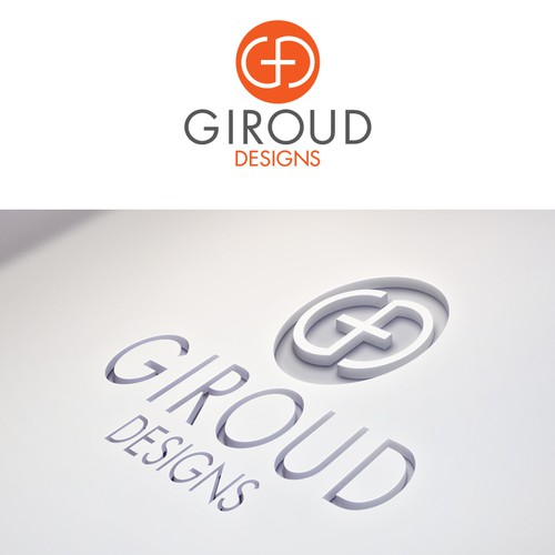 Help Giroud  with a new logo and business card