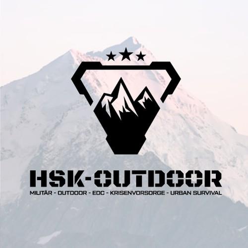 Logo Design for HSK-Outdoor