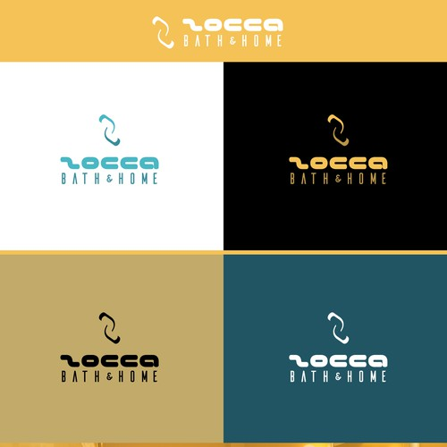 Simple, clean and negative-space theme based logo.