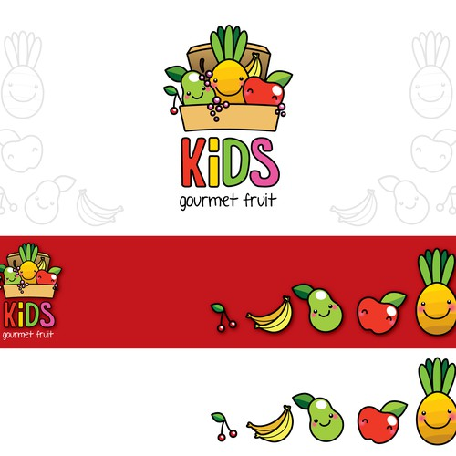 Logo concept for kids meal company