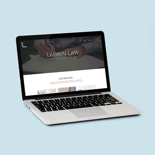 Larkin Law Website Design