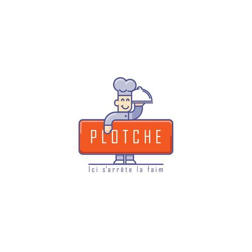 Logo design for new restaurant : PLOTCHE