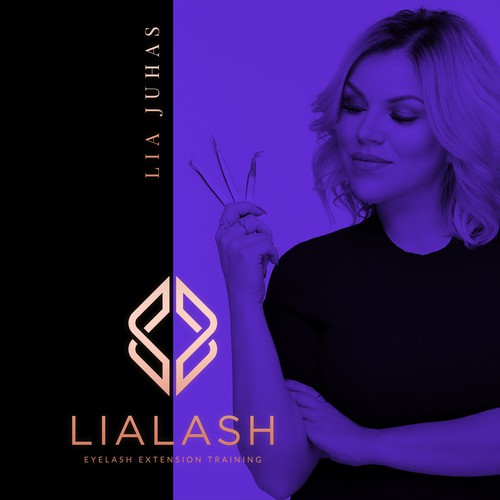 LiaLash - Logo Design