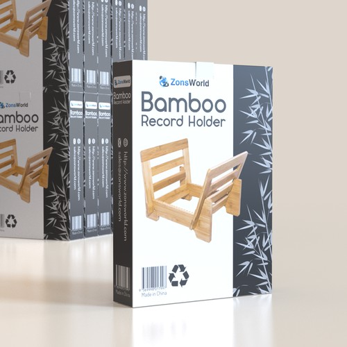 Bamboo Record Holder