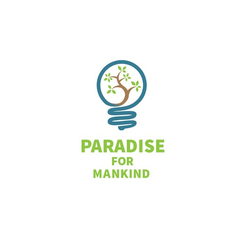 new innovative logo for Paradise for Mankind