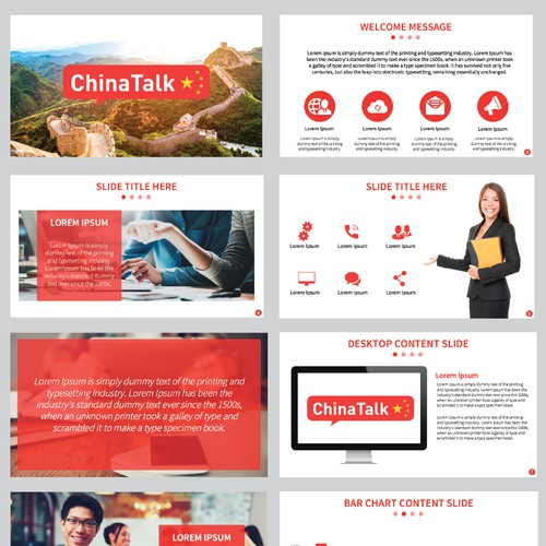 Powerpoint Template for Tech Company