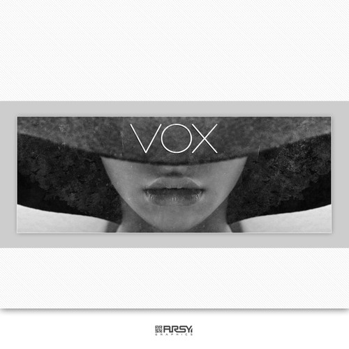 "Facebook cover for ""VOX"" music artist / song writer"