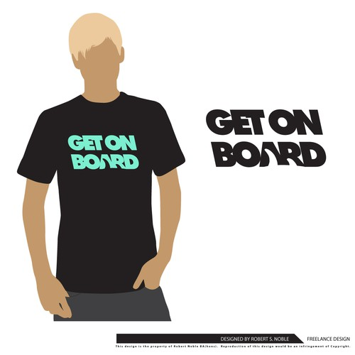 Bold tshirt idea for Surf boardsports brand