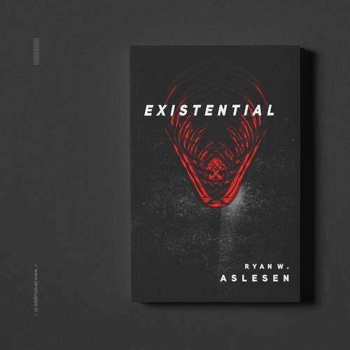 Primal cover for a Sci-Fi/Horror book