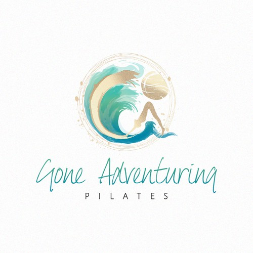An elegant and artistic logo design for Gone Adventuring.