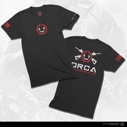 ORCA Tactical t-shirt design