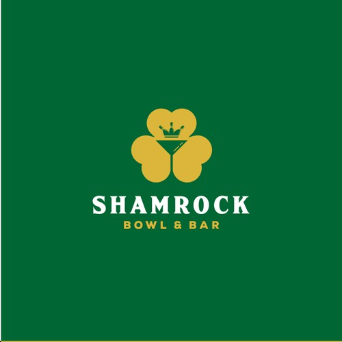 Logo Concept for Shamrock bowl & bar