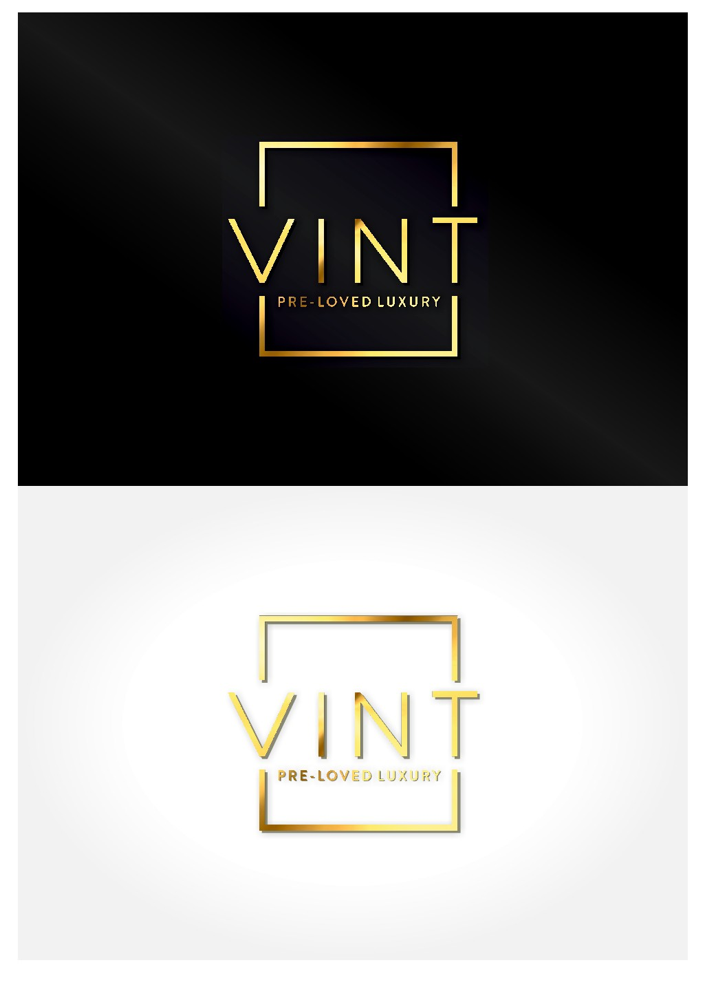 Design edgy logo for VINT!  A company that sells preowned luxury designer handbags and accessories