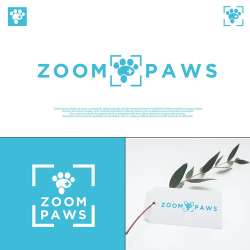 "Simple, clean, fun, but also professional logo for Pet Supplement ""Zoom Paws"""