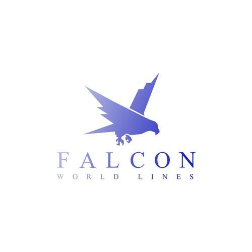 Concept Logo Falcon Company