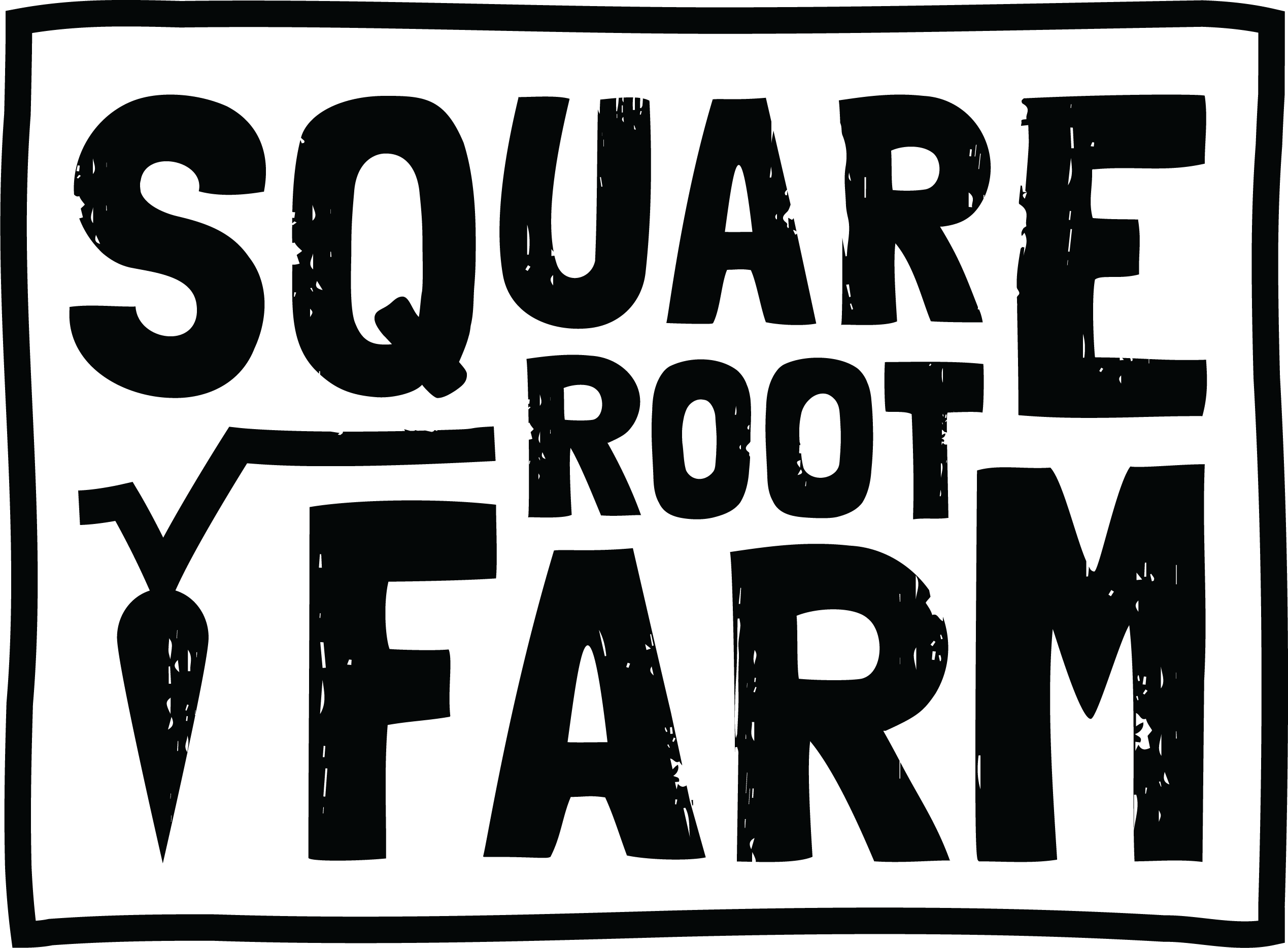 Vegetable Farm seeks simple BUT AWESOME text logo
