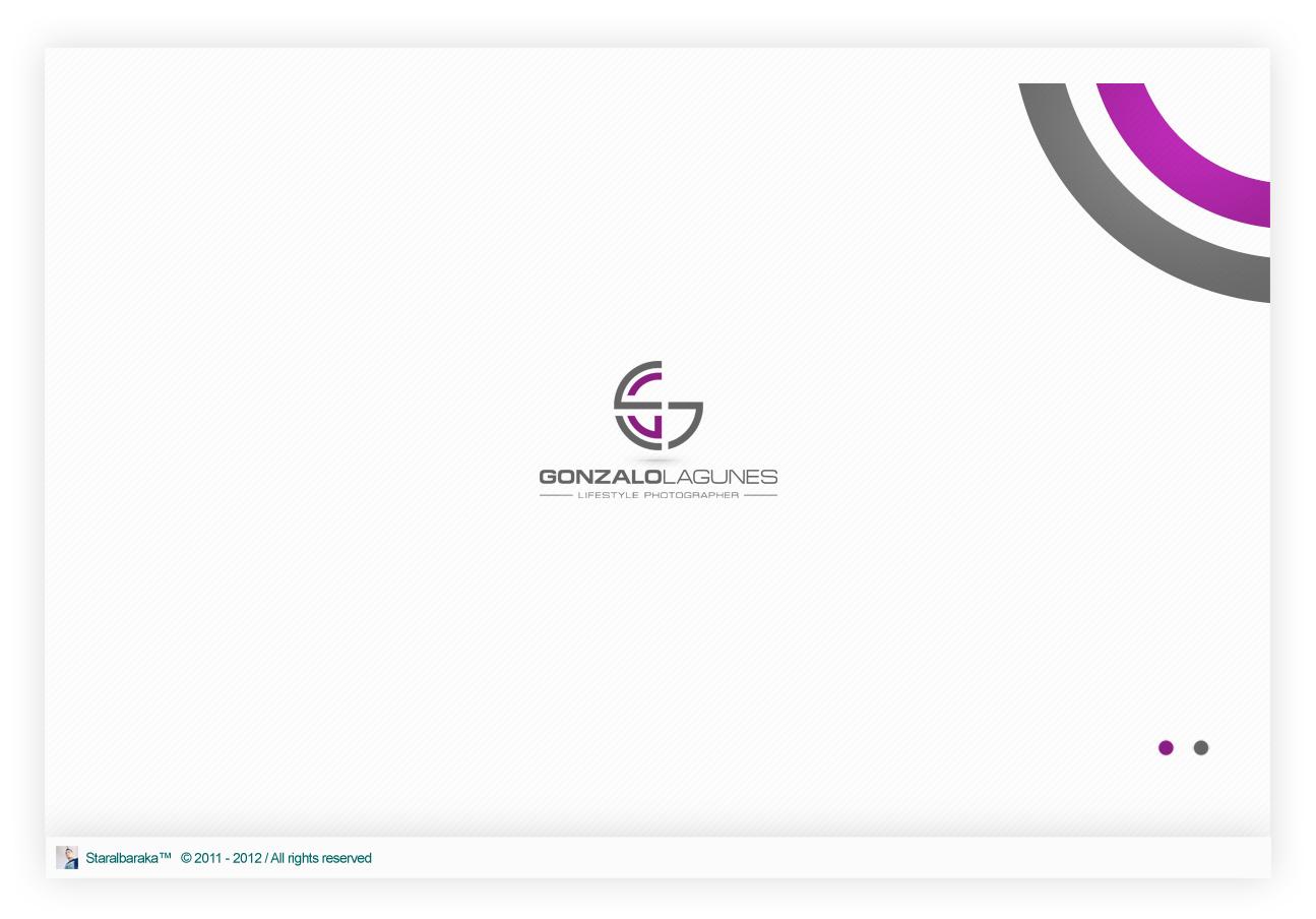 Create the next logo for Gonzalo Lagunes