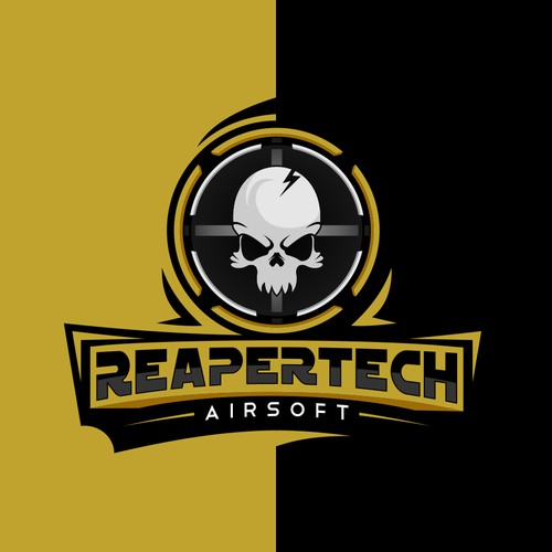Airsoft Webstore needs eye popping new REAPER logo