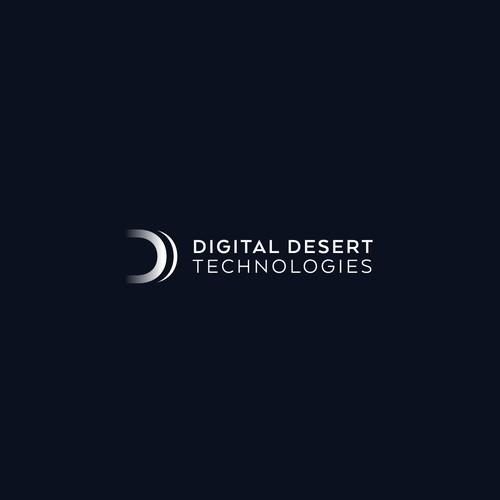 Logo concept Digital Desert Technologoies (Technology)