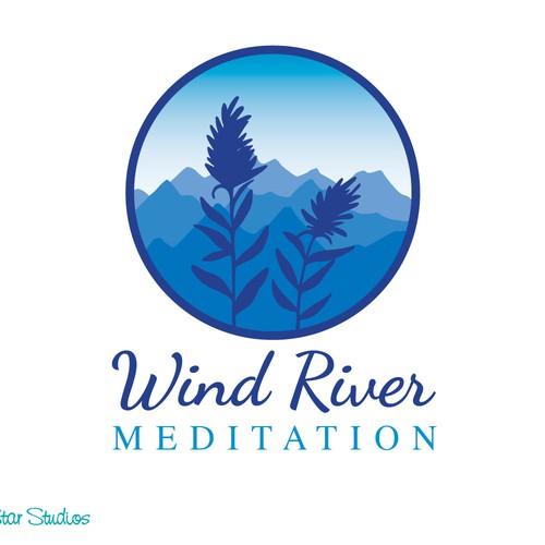 Big Mind, Buddha Mind--create a logo for Wind River Meditation.