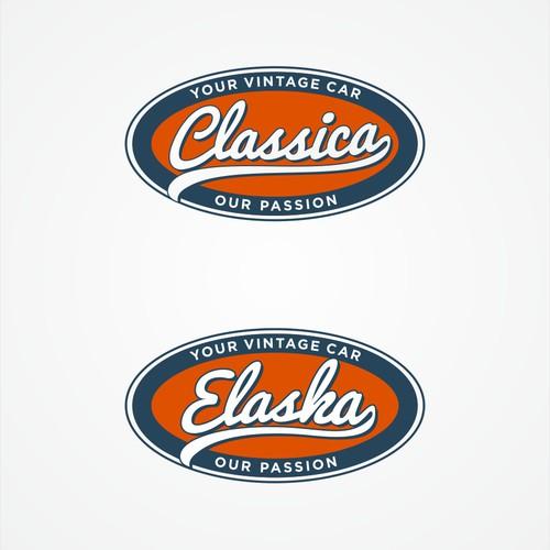 Classica Logo - Vintage Car Broker