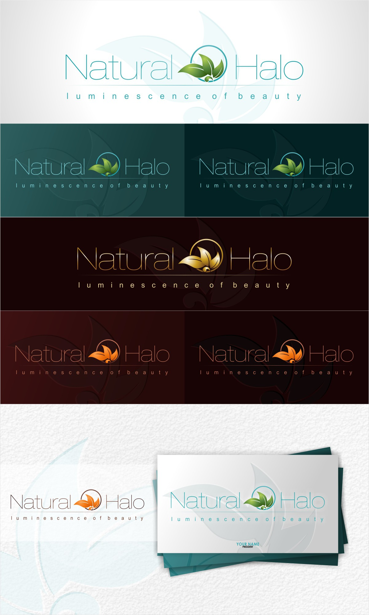 Create the next logo for Natural Halo