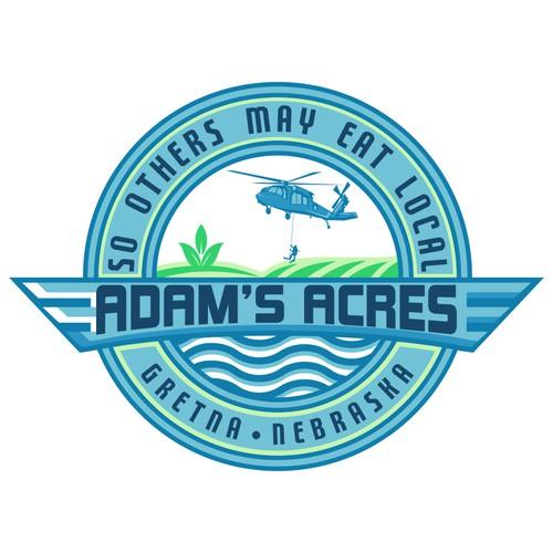LOGO VINTAGE CONCEPT FOR ADAM'S ACRES