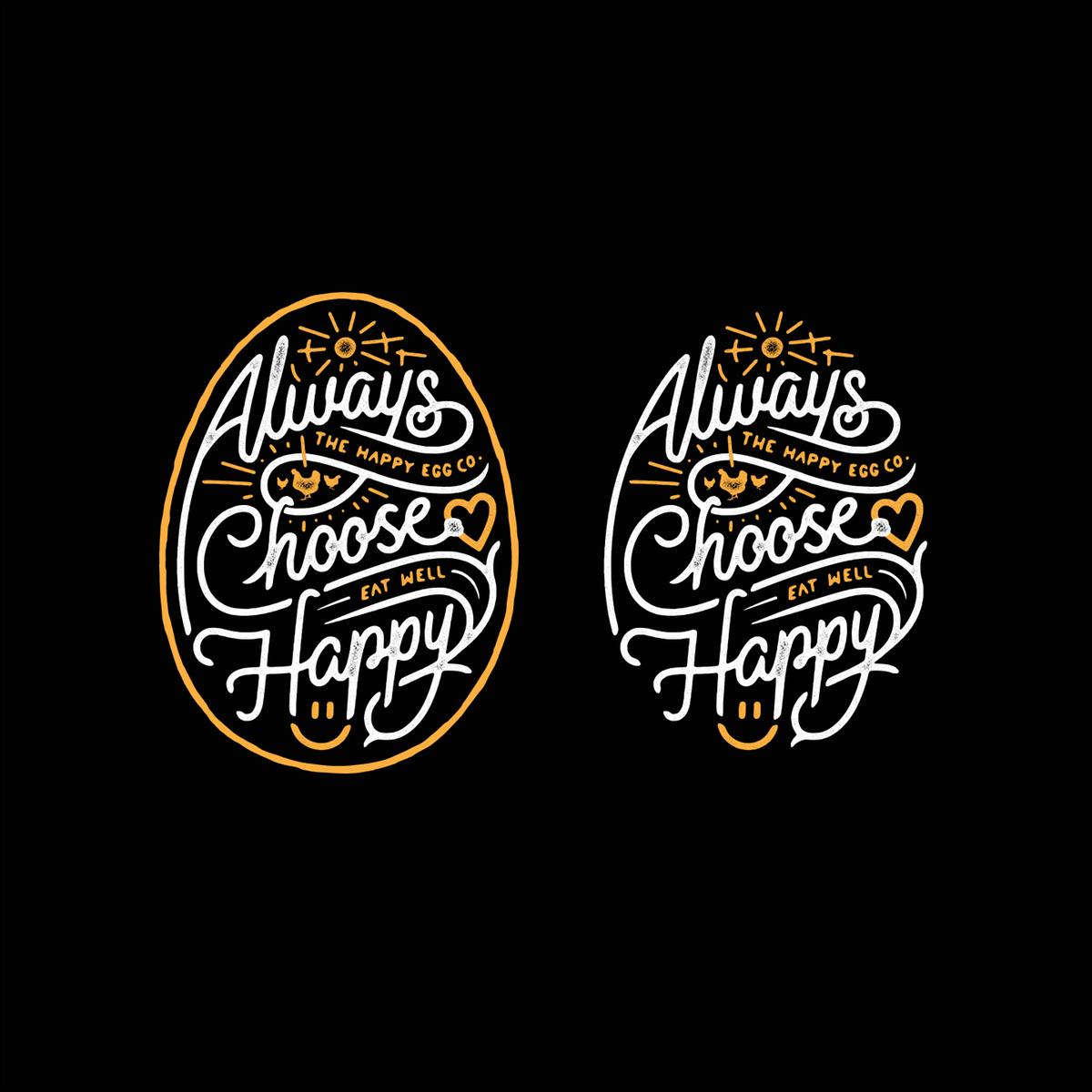 Happy Egg Co. T-Shirt Design