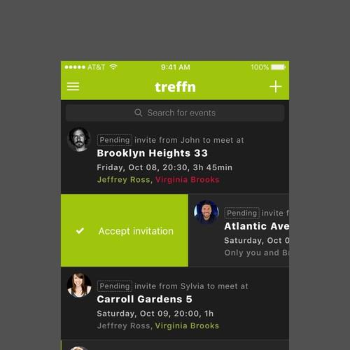 Geo-location app